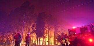 آسٹریلیا کے شہر پرتھ کے جنگل میں لگی آگ بے قابو